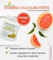 Vitamina C Alcalina Forte pulbere 3+1 GRATUIT